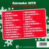 Karaoke Hits Best of Christmas CD - Audio Playbacks - Rueckseite cd