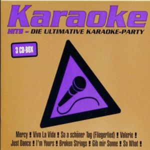 Karaoke Hits Ultimative Karaoke Party 3CD - Karaoke Playbacks
