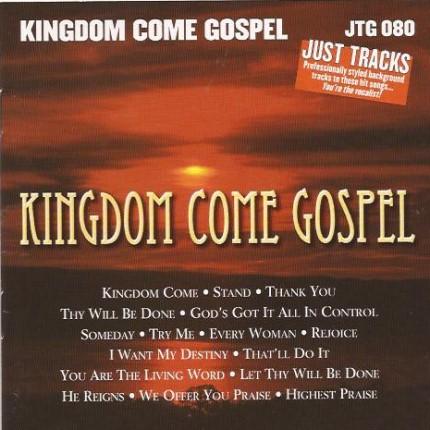 Kingdom Come Gospel – JTG 080 – Karaoke Playbacks - CD-Front