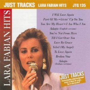 Lara Fabian - Just Tracks - Karaoke Playbacks - JTG 135 - CD-Front