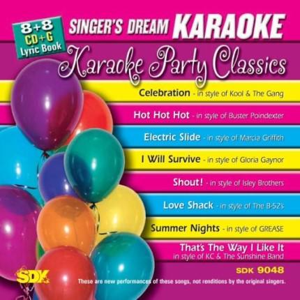 Party Classics - Karaoke Playbacks - SDK 9048 - CD-Front