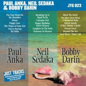 Paul Anka und Freunde – Karaoke Playbacks – JTG 023 - CD-Front