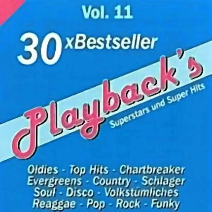 Playback's Vol.11 - Audio Karaoke Playbacks - 30 Bestseller