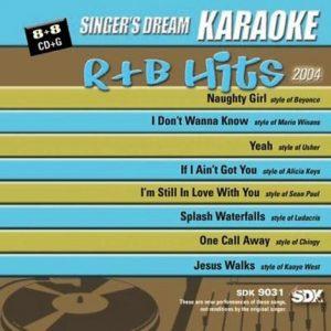 R&B Hits 2004 - SDK 9031 - Karaoke Playbacks -CD-Front