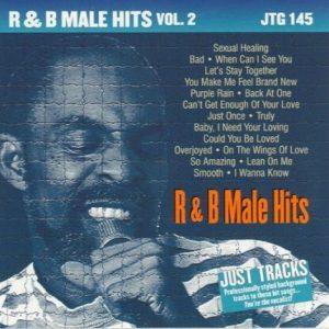 R&B MALE HITS Vol. 2 - Karaoke Playbacks - JTG 145 - CD-Front