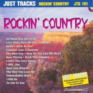 Rockin Country - Karaoke Playbacks - JTG 191 - CD-Front
