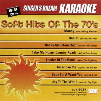 Soft-Hits-of-the-70s-Karaoke-Playbacks-SDK-9037-CD-Front