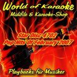 Star Disc 4702 Pop Hits Of February 2007 - Karaoke Playbacks