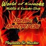 StarDisc - Karaoke Playbacks - Vol.4704 - April 2007 - Karaoke-Songs
