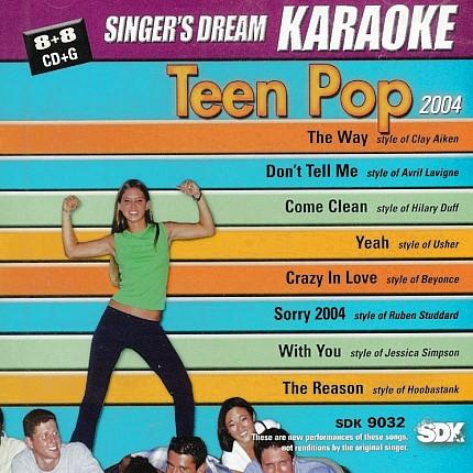 TEEN POP 2004 - SDK 9032 - Karaoke Playbacks - CD-Front