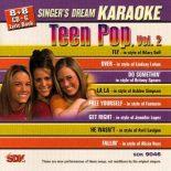 TEEN POP VOL. 2 - Karaoke Playbacks - SDK 9046 (Spar-Ausgabe)