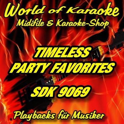 TIMELESS PARTY FAVORITES - Karaoke Playbacks - SDK 9069