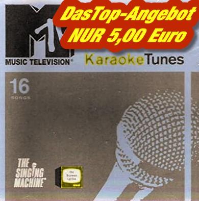 The Singing Machine - KARAOKE TUNES - MTV - Karaoke Playbacks - CD-Front.jpg