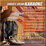 Today's Hot Country Groups - SDK 9072 - Karaoke Playbacks (Sparangebot)