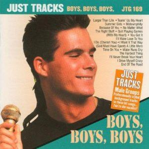 Boys Boys Boys - Karaoke Playbacks - JTG 169 - CD-Front