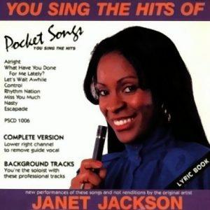 Janet Jackson - Karaoke Playbacks - PSCD 1006 - Front der CD