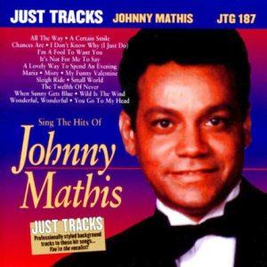 Johnny Mathis - Best Of - Karaoke Playbacks - JTG 187 - CD-Front