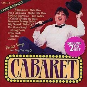 Cabaret – Karaoke Playbacks - PSCD 1110 - CD-Front