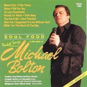 Hits Of Michael Bolton als Karaoke Playbacks - PSCD 1085 - CD-Front