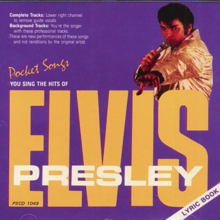 Hits von Elvis Presley - Karaoke Playbacks - PSCDG 1049 - Front