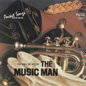 The Music Man - Karaoke Playbacks - PSCDG 1183 - Front