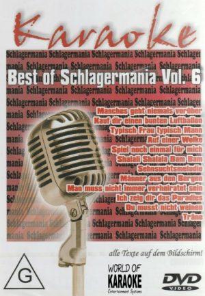 Best Of Schlagermania Vol. 6 - DVD - Karaoke Playbacks - Front -