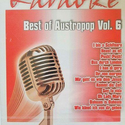 Best of Austropop Vol.6 DVD - Karaoke Playbacks - DVD-Front