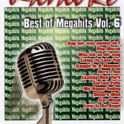 Best of Megahits Vol. 06 - DVD - Karoke Playbacks - Front -