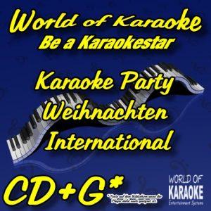 CD-Cover-Karaoke Party –Weihnachten International