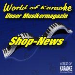 Karaoke-Shop-News - Massenhaft neue Karaoke-DVDs eingetroffen