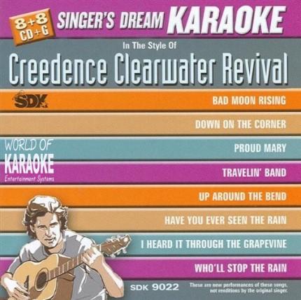 SDK 9022-Karaoke Playbacks - Front