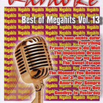 Best Of Megahits Vol. 13 - Karaoke Playbacks - DVD - Front -
