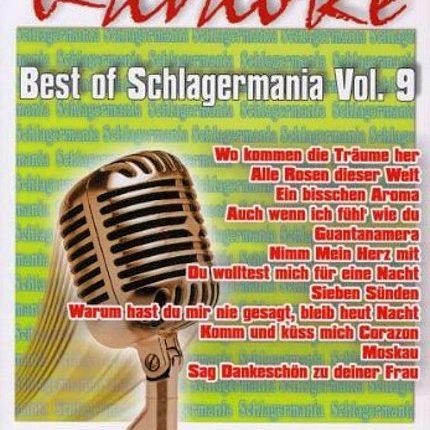 Best Of Schlagermania Vol. 9 DVD - Karaoke Playbacks - DVD-Front