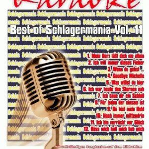 Best of Schlagermania Vol. 11 – DVD - Karaoke Playbacks - Front -