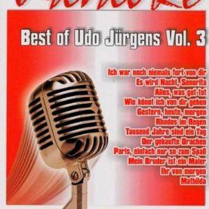 Best of Udo Jürgens Vol. 3 – Karaoke Playbacks - DVD - Front -