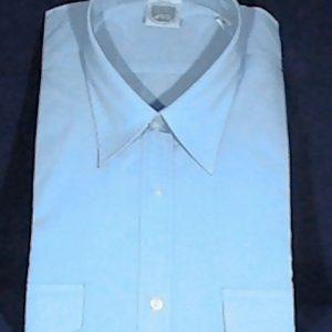 Pilotenhemd / Diensthemd - Blau - Größe 41