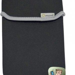 """Universaltasche - Muvit Reversible Neopren Sleeve für Tablets bis 7"""" - Schwarz / Grau"""
