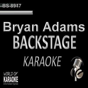 Best of Bryan Adams – Karaoke Playbacks – BS 8917 - Frontansicht - CD+G