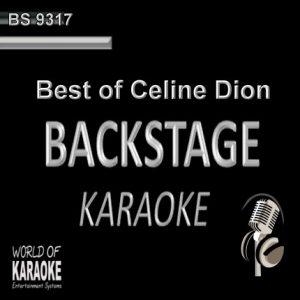 Best of Celine Dion – Karaoke Playbacks – BS 9317 - CD-Front