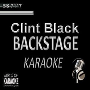 Best of Clint Black – Karaoke Playbacks – BS 7117 - CD-Front-Cover