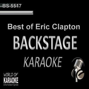 Best of Eric Clapton – Karaoke Playbacks – BS 5517 - CD-Front-Ansicht