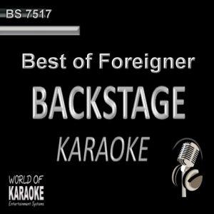 Best of Foreigner – Karaoke Playbacks – BS 7517
