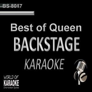 Best of Queen – Karaoke Playbacks – BS 8017 - CD-Frontansicht -