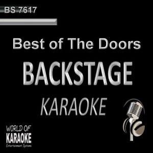 Best of The Doors – Karaoke Playbacks – BS 7617 - CD-Front-Cover -