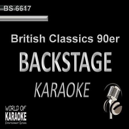 British Classics – Karaoke Playbacks – BS 6617 - CD-Front