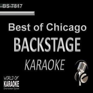 Chicago Karaoke Playbacks - Rock Songs - CD G BS7817 - CD-Front