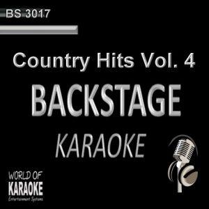Country Hits Vol. 4 – Karaoke Playbacks – BS 3017 - CD-Front