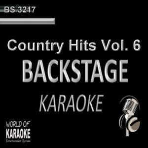 Country Hits Vol.6 – Karaoke Playbacks – BS 3217 - CD-Front