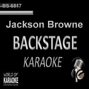 Jackson Browne – Karaoke Playbacks – BS 6817 - CD-Frontansicht