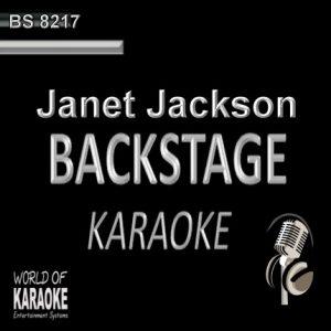 Janet Jackson – Karaoke Playbacks – BS 8217 - CD-Frontansicht